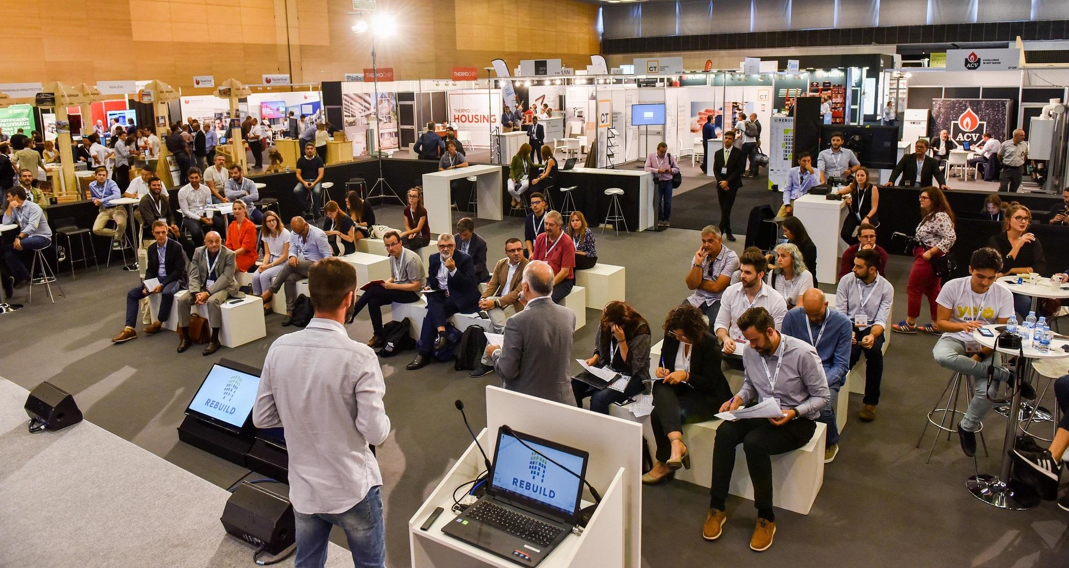 REBUILD 2019 reúne a las startups líderes para transformar el sector de la edificación