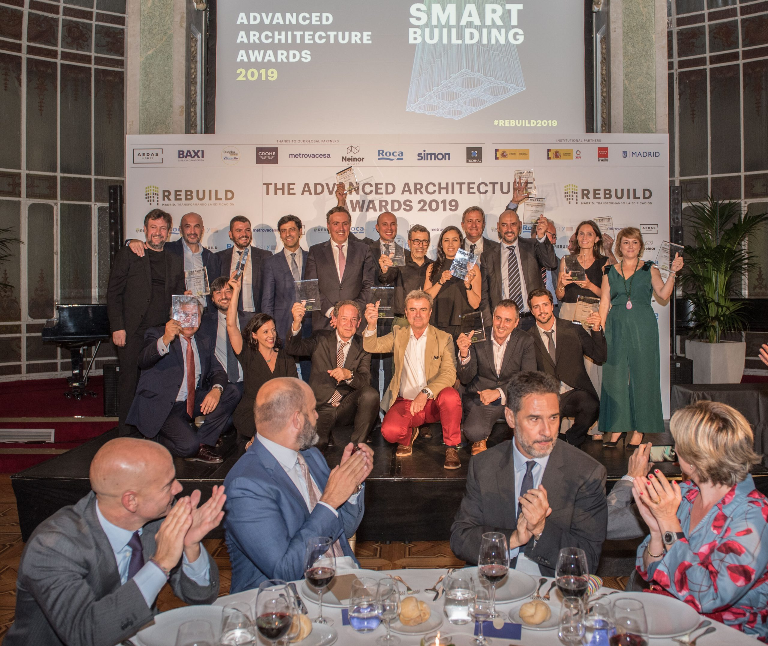 TITAN, Aldes, BIM6D, Factor-ia e Instituto Provençana, los ganadores de los 'The Advanced Architecture Awards 2019'
