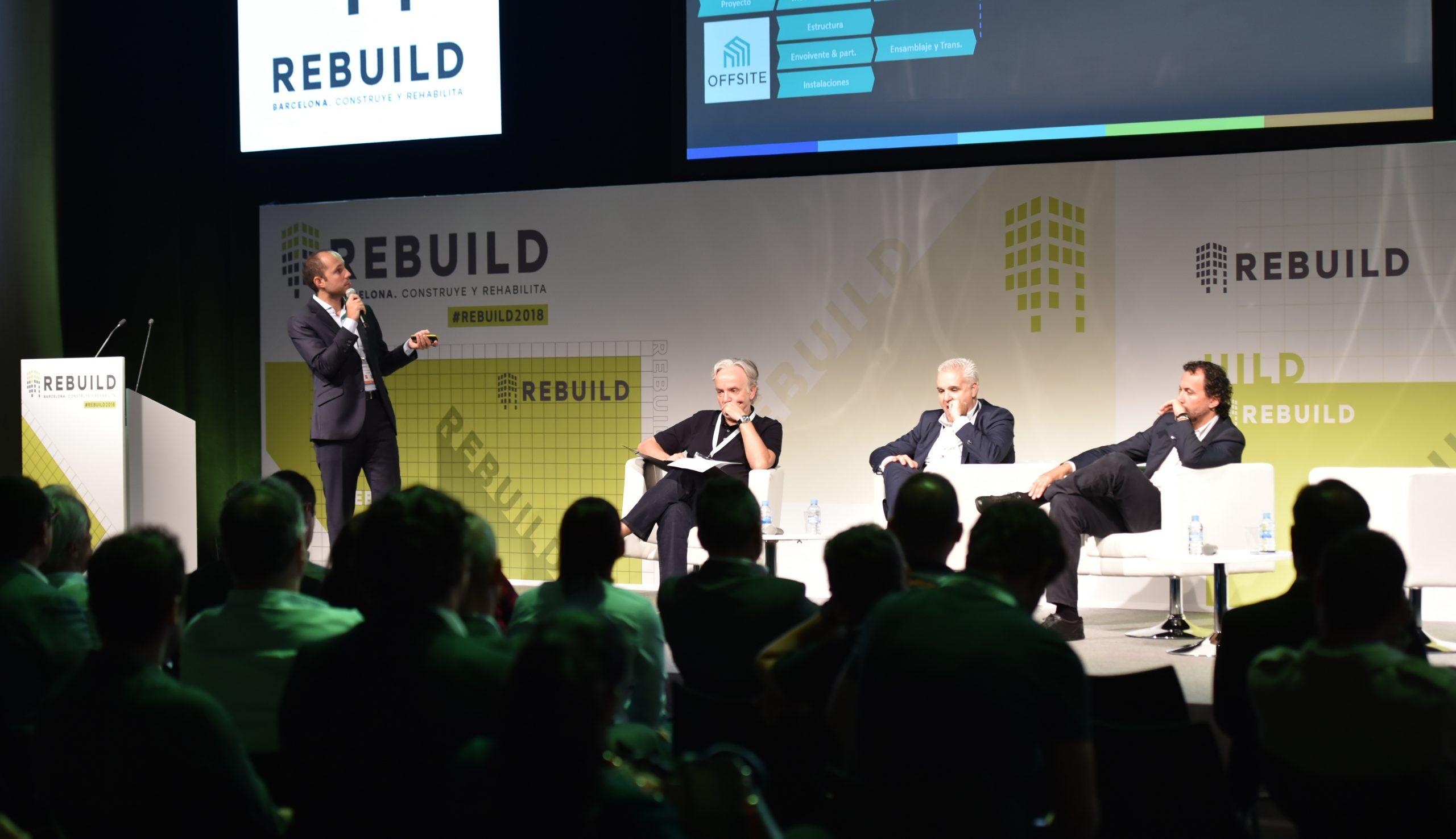 La industrialización como palanca de transformación del ecosistema de la construcción, clave en la agenda de REBUILD 2019