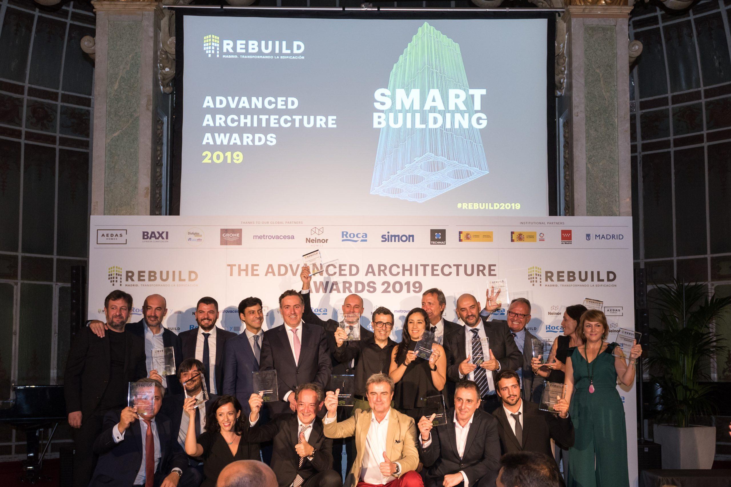 REBUILD premia la innovación en la edificación con los Advanced Architecture Awards 2020