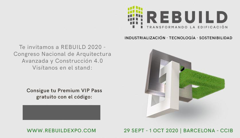 Invitación Premium VIP con stand