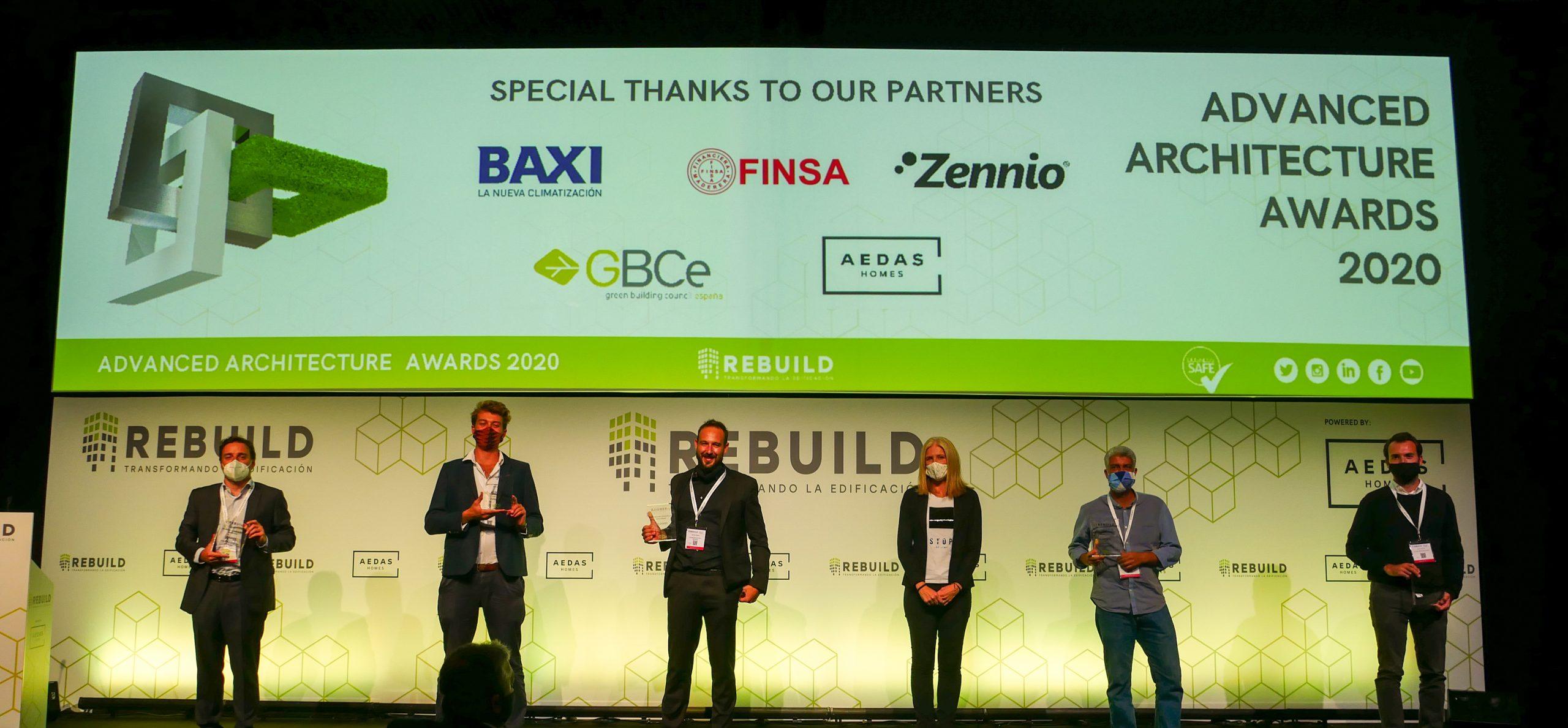 FINSA, IaaC, Territori 24, Roldán-Berengué arqts. y Studio Banana, los ganadores de los Advanced Architecture Awards 2020